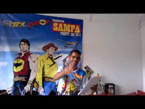 Chamada para Sampa Fumetti Con o II Segundo Encontro Nacional do Clube Tex Brasil