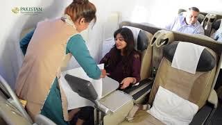 Vlog   Take a look inside PIA's Boeing 777 300 ER
