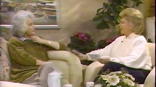 Bea Arthur interview with Dinah Shore--1989