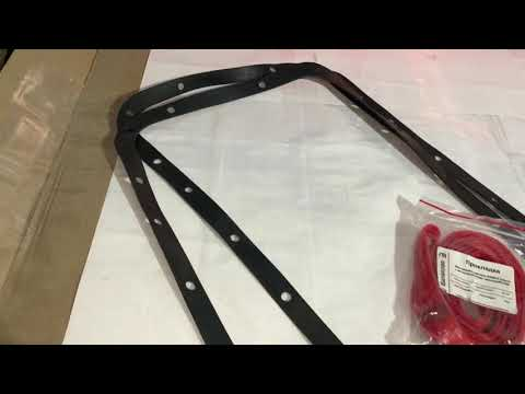 Прокладки Картера масленого поддона КамАЗ 5320 КамАЗ Евро (БРТ) и (Резинометалл) ЧелныАвтоКомплект