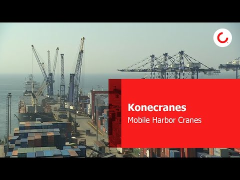 Mobile Harbor Cranes in Container Handling