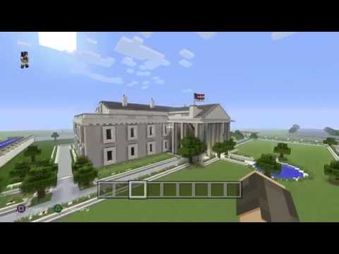 Minecraft: PS4 Showcasing the WhiteHouse