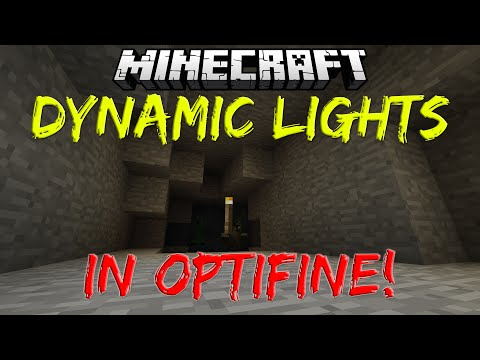 Dynamic Lights in Optifine - Minecraft 1.9.4