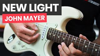 Download Lagu 🎸New Light John Mayer Guitar Lesson - How To Play New Light by John Mayer Mp3