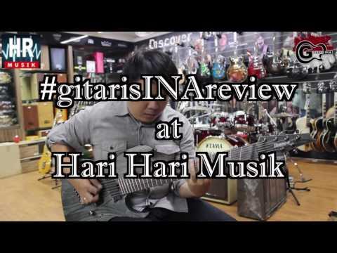 Ibanez RGIF7 BKS #gitarisINAreview With Hendry Halim