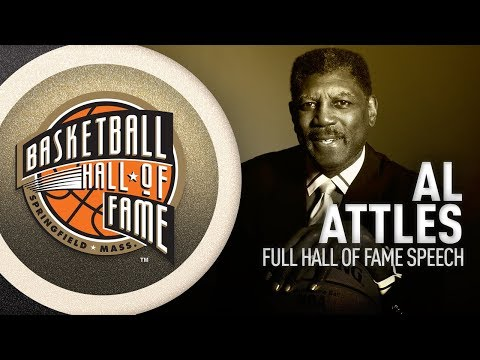 Al Attles   Hall of Fame Enshrinement Speech