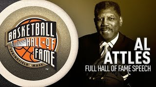 Al Attles | Hall of Fame Enshrinement Speech
