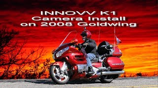 INNOVV K1 Dual camera installation on 2008 Goldwing