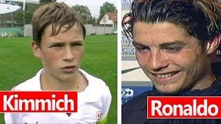 10 Interviews mit Fußball Stars, BEVOR sie berühmt waren