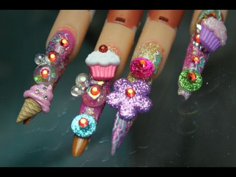 Opinion nail stiletto art designs