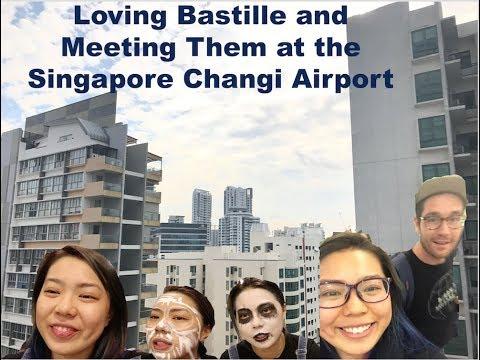 Meeting Bastille in Singapore + Concert Makeup | cocohong