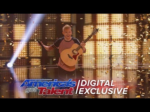Singer Chase Goehring Chats About Winning DJ Khaled's Golden Buzzer - America's Got Talent 2017