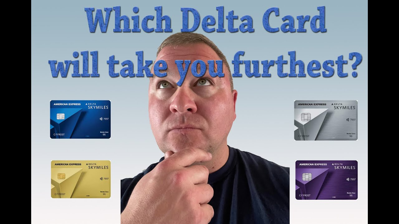 Download AMEX Delta Cards Reviewed.  Time to FLY!!!