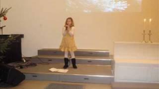 Sonjas sang til julestjernen   Sunniva Greipsland.wmv