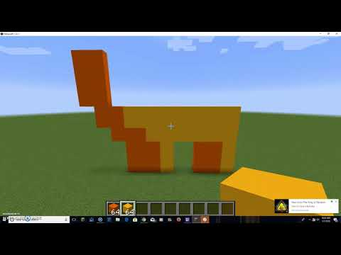 Minecraft Tutorial: How to Make a Golden Dollar Sign