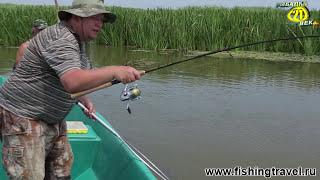 рыбалка дельта видео