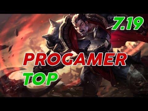 Progamer Darius Top Patch 7.19 Pro Replay