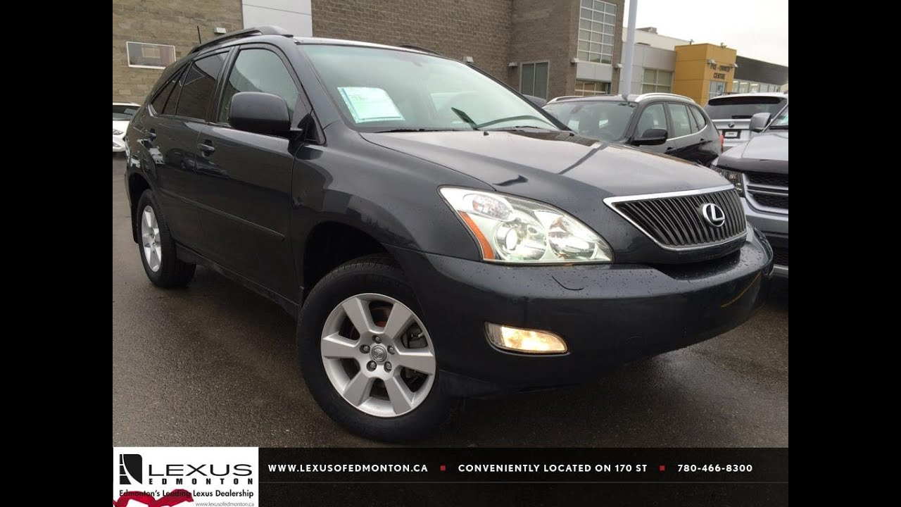 used black 2007 lexus rx 350 4wd review slave lake alberta youtube. Black Bedroom Furniture Sets. Home Design Ideas