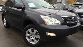 Used Black 2007 Lexus RX 350 4WD Review | Slave Lake Alberta
