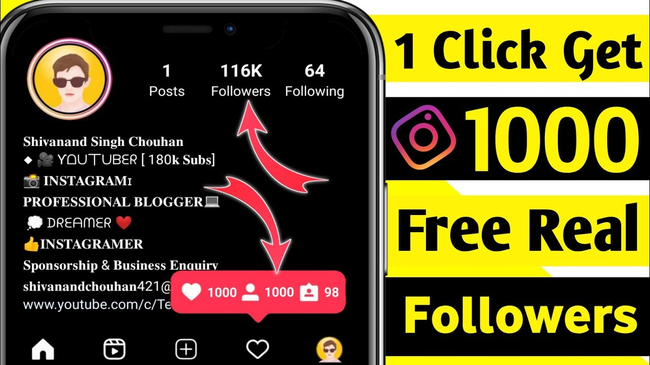 How To Get Free Instagram Followers 2021 | how to increase instagram followers | Instagram likes