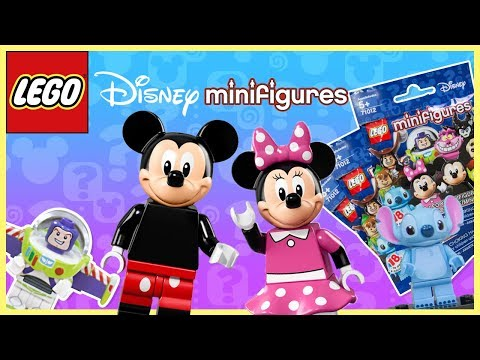 LEGO Disney Minifigures Series 1 Blind Bags!