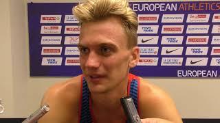 Lukáš Hodboď po semifinále 800 m na ME 2018