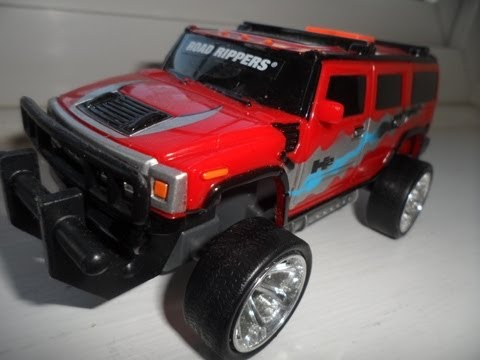 2003 HUMMER H2 SUV WITH LIGHTS AND SOUNDS CAR TOY