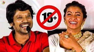 First Time U வாங்குறேன் - SJ Suryah speech I Priya Bhavani Shankar I Monster Audio Launch