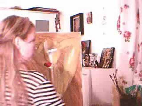 Johanna Wagner Painting Femme Fatale