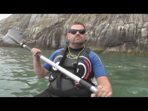 Sea Kayaking Galaxy Sturgeon July 2016