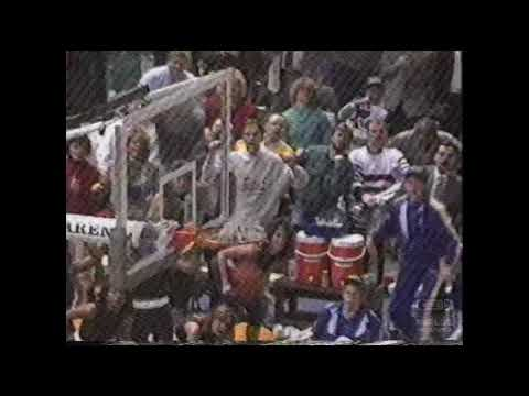 Indiana Pacers Vs Atlanta Hawks   NBA   TBS   Promo   1991