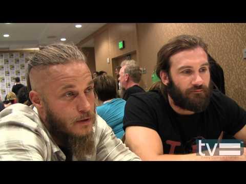 Vikings Season 2: Travis Fimmel & Clive Standen