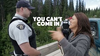 RCMP Blocked from entering Unist'ot'en Camp