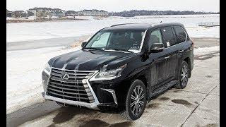 2019 Lexus LX 570 Winter Review Still the King