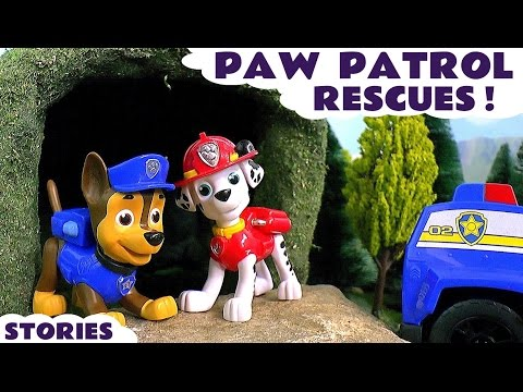 Paw Patrol Toys Rescue Episodes - Toy Stories with Toy Trains for kids and children ToyTrains4u