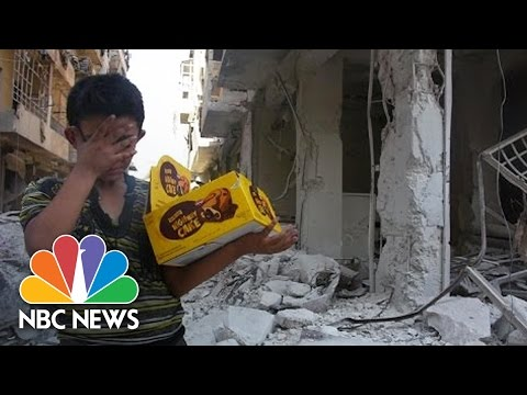 Aleppo Boy Who Lost Dad, Siblings: 'The Whole World Is Broken' | NBC News