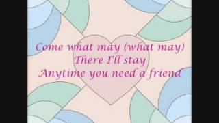 Anytime You Need A Friend - The Beu Sisters (with Lyrics)