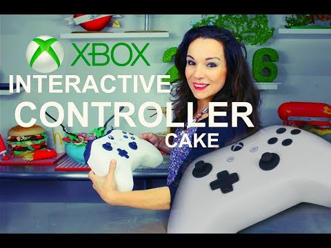 XBOX CONTROLLER CAKE THAT YOU CAN PICK UP ! | BY VERUSCA WALKER