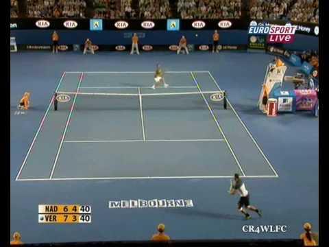 Rafael Nadal - Fernando Verdasco Australian Open 2009 Highlights
