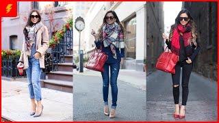 How to Wear Tartan Scarf to Look Modern