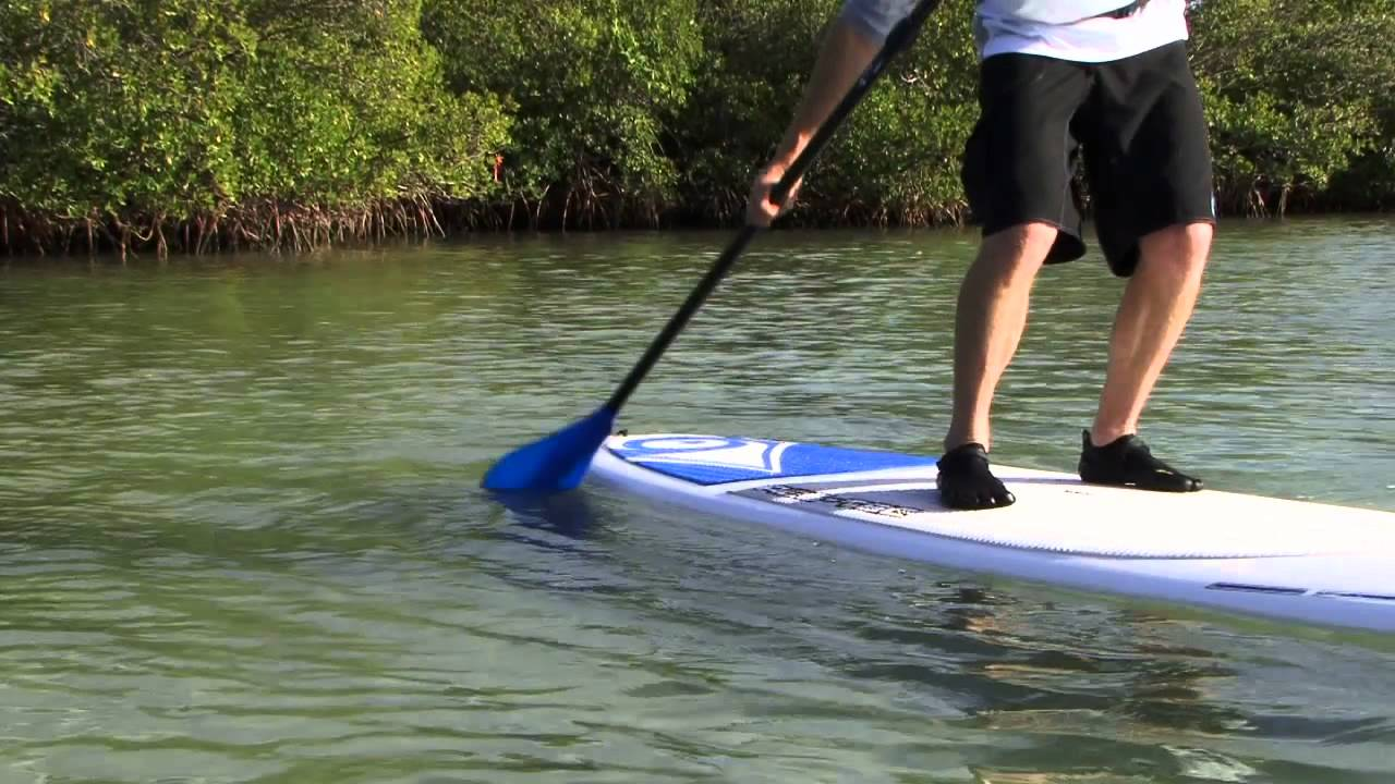 Sweep Stroke Stand-Up Board