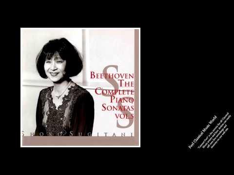 Shoko Sugitani: Beethoven Piano Sonatas Vol.5