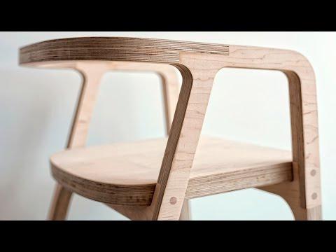 Cnc folding chair