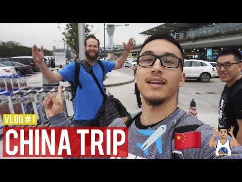 Going On Klay Thompson's China Tour! | China Travel Vlog #1 | #ChinaKlay