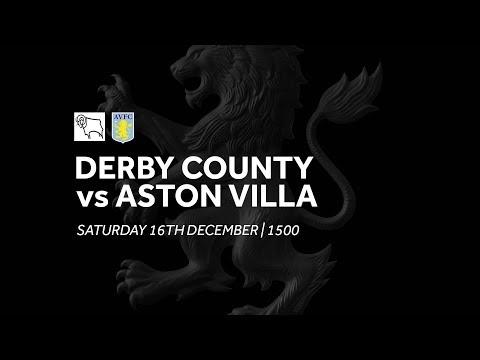 Derby County 2-0 Aston Villa: Extended Highlights
