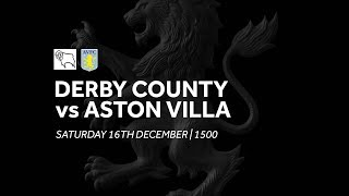 Derby County 2-0 Aston Villa: Extended Highlights