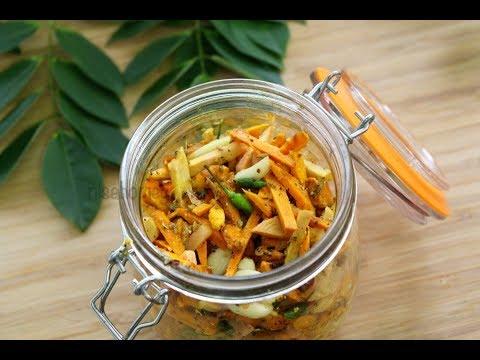 Turmeric Pickle Recipe - How To Make Turmeric Pickle