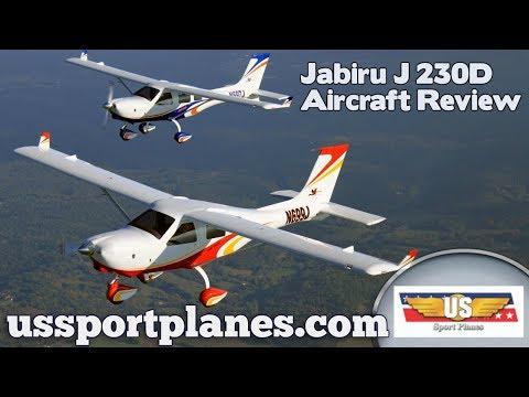 Jabiru J230D Light Sport Aircraft Review Sport Aviation Expo