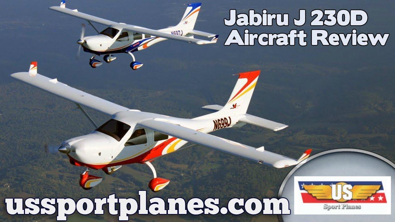 Jabiru J230D Light Sport Aircraft Review Sport Aviation Expo 2019 Sebring  Florida