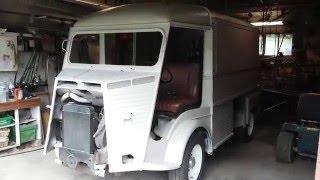 Citroen HY Diesel Indenor fraichement sablé et traité